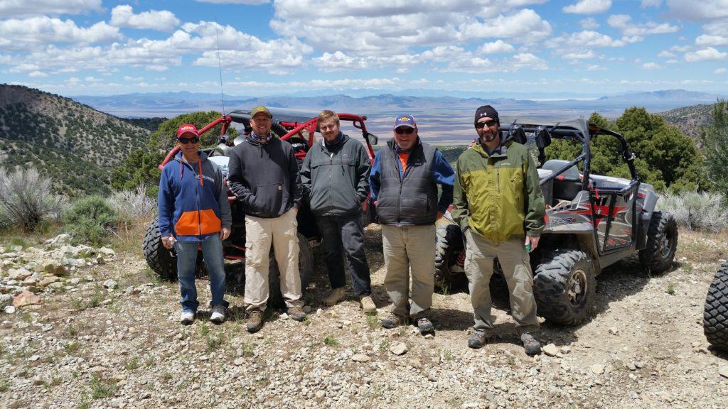 UTV's in the west desert of Utah