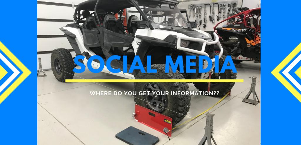 UTV & Social Media